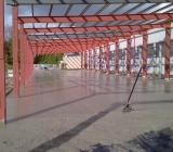 Nový Jičín, cementobetonový kryt, 2.etapy, celkem 3.500 m2, první etapa 1.300 m2