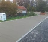 betony - Sběrný dvůr Kvasice - cementobetonový kryt
