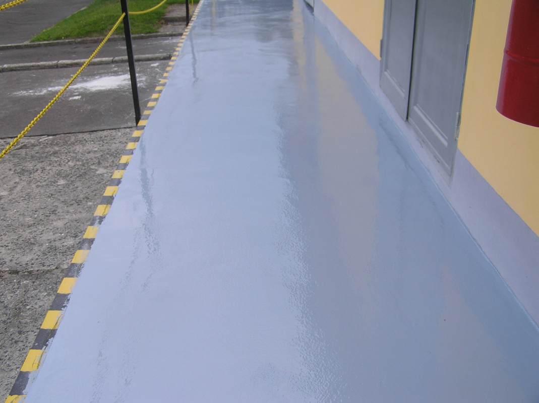 Kamenice nad lipou hzs renovace a sanace po kozen ch - Pintura para pintar piso de cemento ...