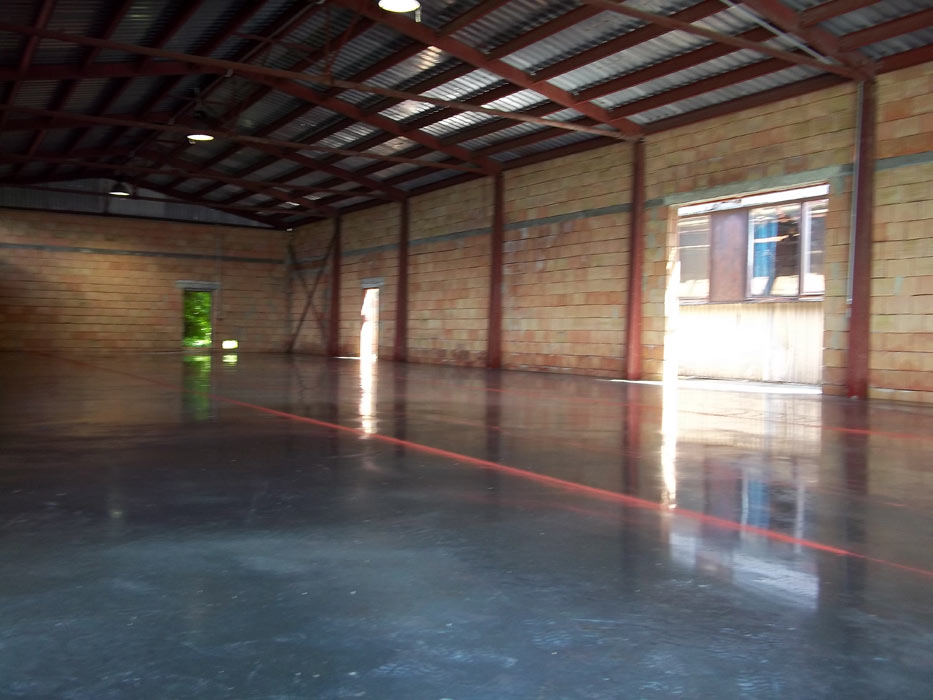 Reinforced Floors With Shakes Concrete Floors Our
